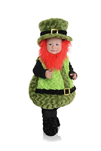 Underwraps - Leprechaun Kobold Kinder Kostüm - Größe: (Das Kobold Halloween Kostüm)