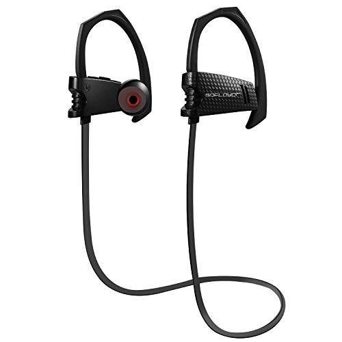 Iron Fist, Bluetooth-Kopfhörer, In-Ear, kabellos, MT1 SDFLAYER, starker Bass, Noise Cancelling, mit Mikrofon, Stereo-Headset-Kopfhörer, geeignet zum Laufen und im Fitnessstudio, schwarz