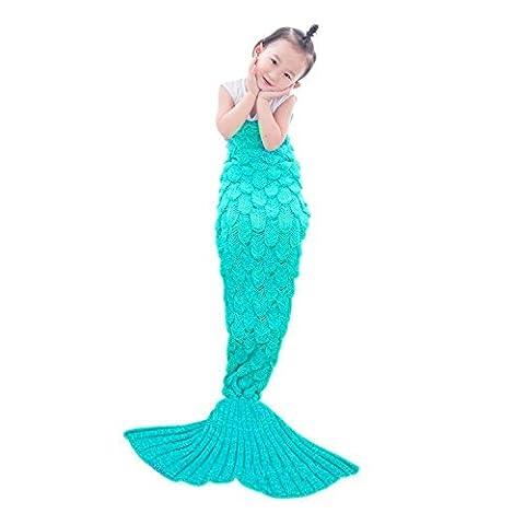 Kinder Meerjungfrau Decke, Meerjungfrau Decke Netchain Meerjungfrau Schwanz Decke für