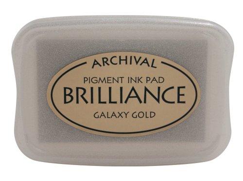 Tsukineko Brilliance Galaxy Pad, Gold Tinte -
