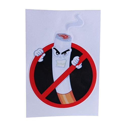 Xuniu Auto Aufkleber, lustige Nichtraucher Zeichen Warnung Aufkleber Auto Autoaufkleber Dekoration -
