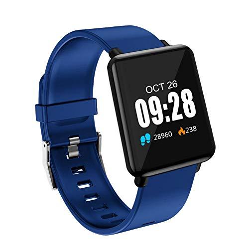 NSADBVTW Sportuhr Smart Watch Männer Frauen Sportuhren Fitness Armband Listen Rate Monitor Blutdruck Smart Watch IP67 + Box