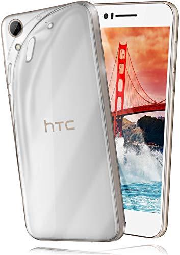 moex HTC Desire 728G | Hülle Silikon Transparent Klar Clear Back-Cover TPU Schutzhülle Dünn Handyhülle für HTC Desire 728G Case Ultra-Slim Silikonhülle Rückseite