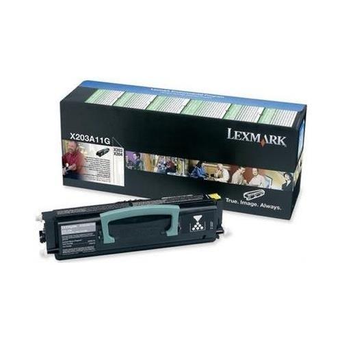 Lexmark Toner schwarz 2.500 Seiten X203A11G