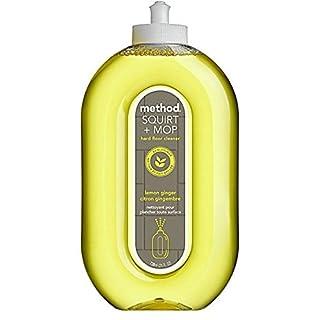 Method Lemon Ginger Hard Floor Cleaner, 739 ml (Pack of 6)