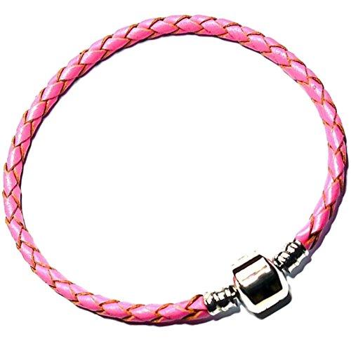 damen-madchen-pink-leder-pandora-stil-armband-fur-charm-armband-verkauf-billig-perlen-geburtstag-ges
