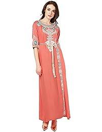 Amazon robe Cher Amazon Pas Dubai Ete Longue Robe xEoBWQrdCe