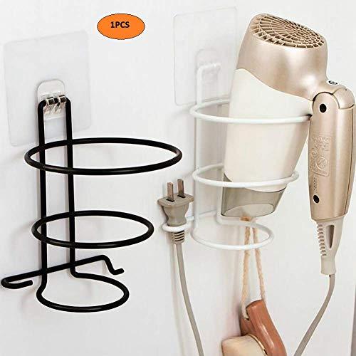 LUVINA Hair Dryer Holder Rack with Plug Hook (Large)