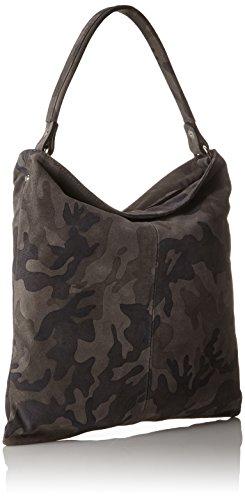 Kennel & Schmenger Damen Taschen Schultertasche, 35x35x35 cm Grau (Granit)