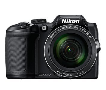 Nikon Coolpix 16 Megapixel, 40x Optical Zoom, 3 Inch Tilt LCD Camera with 8GB SD Card + Camera Bag + HDMI cable (B500 , Black)