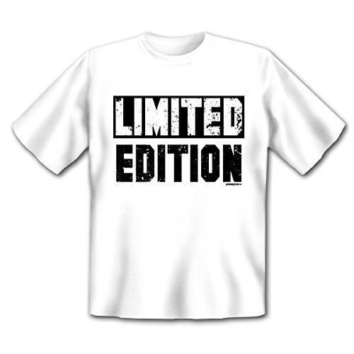 Originelles Motiv T-Shirt - Limited Edition - das Geschenk für Besondere! Weiß
