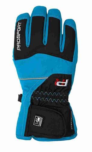 Thermolite-leichte Handschuhe (prosport Kinder Fingerhandschuh, türkis, 5,0, 43594)