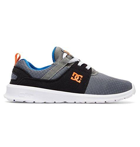 DC , Chaussures de skateboard pour garçon gris/bleu