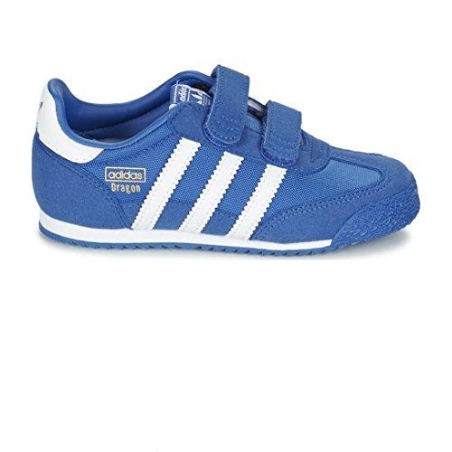 Adidas Unisex Baby Dragon OG Ballerinas, Blau (Blue/Ftwr White/Blue), 26 EU