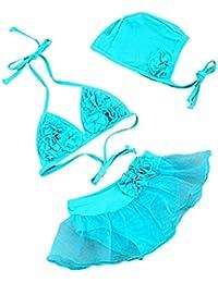 Vlunt Kids Bañador Beachwear Swimsuit Swimwear Bikinis con tapa para niños niños bebé niñas niños 1–6años