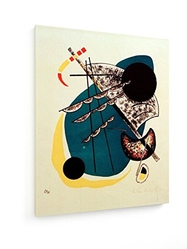Wassily Kandinsky - Kleine Welten II - 1922 - 60x75 cm - Textil-Leinwandbild auf Keilrahmen -...