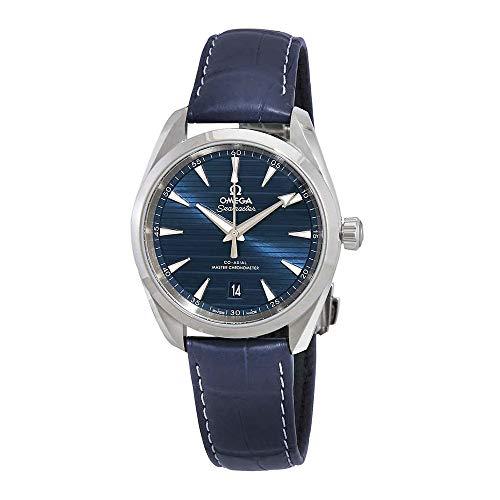 Omega Seamaster Aqua Terra Montre chronomètre Automatique pour Homme Cadran Bleu 220.13.38.20.03.001