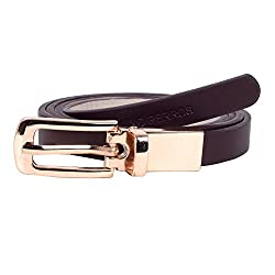 Lino Perros Womens Belt (LWBE00453BROWN_95)