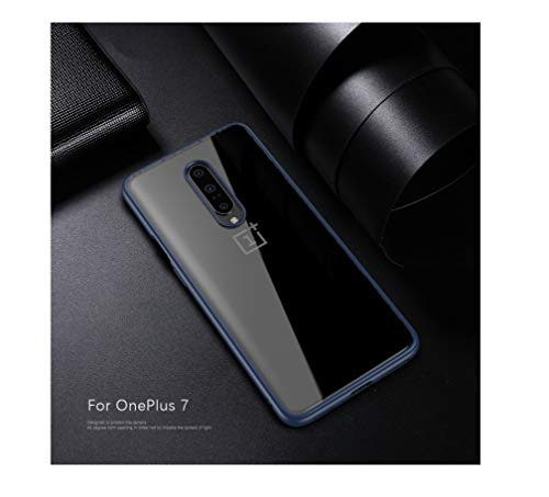 MILASIA Coque Pour Oneplus 7/7 Pro, Ultra Mince résistant aux Rayures Crystal Clear Silicone TPU Rubber Soft Skin Housse de Protection en Silicone Pour Coque Oneplus7/ 7 Pro (Transparent)