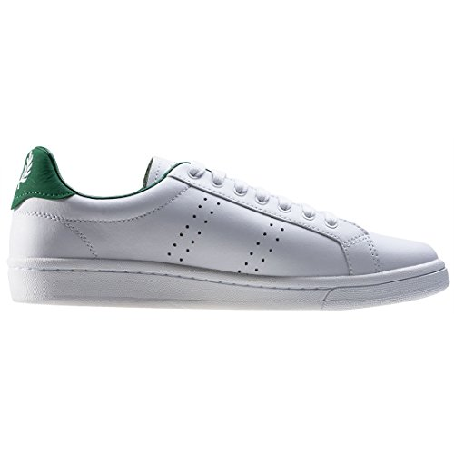 Fred Perry B721 Leather White Weiß