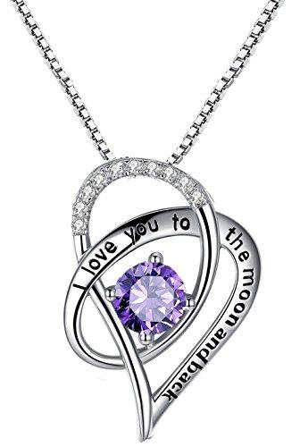 Herz Anhänger 925 Sterling Silber Anhänger Halskette