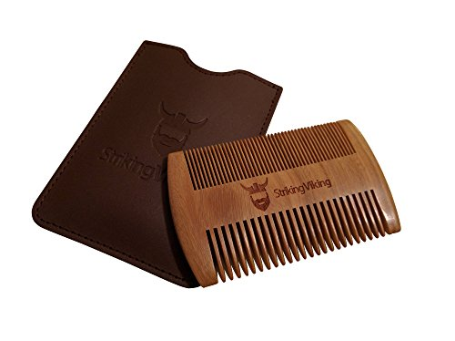 Striking-Viking-Wooden-Beard-Comb-Case-Fine-Coarse-Teeth-From-Striking-Viking-Anti-Static-And-Hypoallergenic-Wood-Pocket-Comb-For-Beards-Mustaches