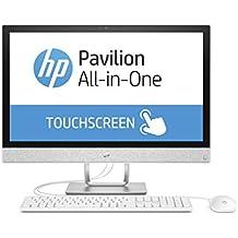 "HP Pavilion 24-r066ng 2.9GHz i7-7700T 23.8"" 1920 x 1080Pixeles Pantalla táctil Blanco PC todo en uno - Ordenador de sobremesa All in One (60,5 cm (23.8""), Full HD, 7ª generación de procesadores Intel® Core™ i7, 16 GB, 1000 GB, Windows 10 Home)"