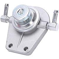 1PC Silver Metal Crudo Oil Fuel Filter Housing Prime Pump Cap