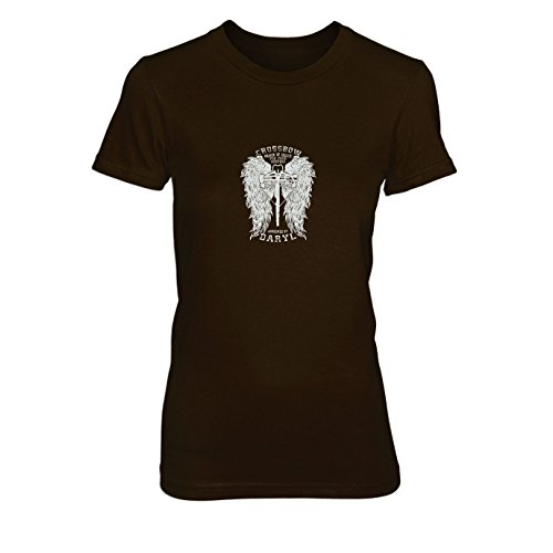 Daryl Wings - Damen T-Shirt Braun