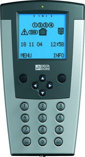DELTADORE - TECLADO DIGITAL LCD CLICX 6413218 GRIS PARA ALARMA DELTADORE