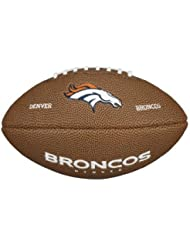 Wilson NFL DENVER BRONCOS Team Logo Mini Football