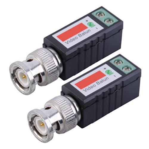 Gemeinsame Anti-Interferenz Single 1 Kanal Passive Video Transceiver BNC-Stecker Koaxial-Adapter für Balun CCTV-Kamera DVR BNC UTP