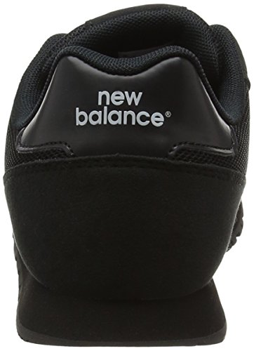 New Balance Kj373aby M, Sneakers Basses Mixte Enfant Noir (Black)