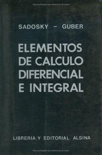 Elementos de Calculo Dif. E Integral 1 -Con Tabla