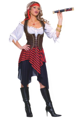 y dress costume X-Large (Womens Pirate Wench Kostüm)