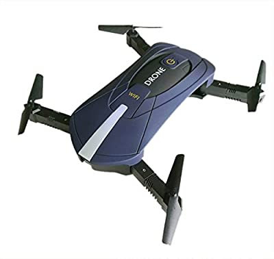 IFLYING Pocket Self-timer Quadcopter WiFi RC Folding Drone with Camera