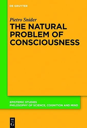 The Natural Problem of Consciousness (Epistemic Studies Book 36) (English Edition)
