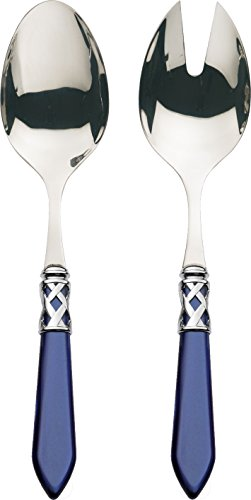 Bugatti alc2m-n4214/15Aladdin 2-teilig Service Salatsamen Stahl/ABS Blau 30,5x 14x 3cm Pearl Serving Fork