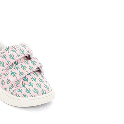 R Mini Mdchen Sneakers Mit Klettverschluss Und Kaktusprint bedruckt Kaktus