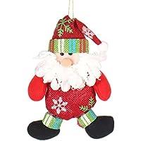 La Vogue-Ciondola con Babbo Natale 16*12cm
