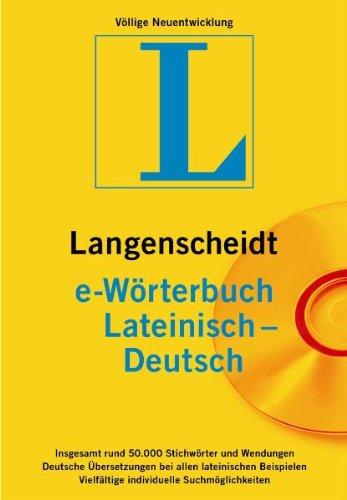 Langenscheidt e-Wörterbuch Latein-Deutsch