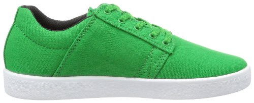 Supra KIDS WESTWAY S12011K, Sneaker ragazzo Verde (Grün (GREEN / BLACK - WHITE GEB))