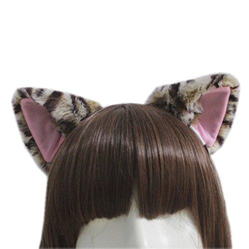 E-TING Katze Fox Lange Fellohren Anime Cosplay Stirnband -