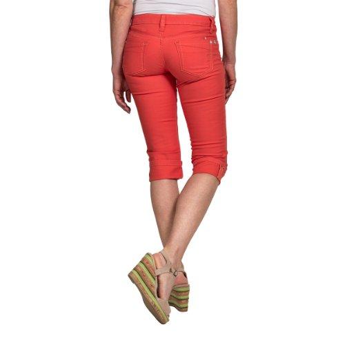 Timezone Damen Short 15-0116 TaliTZ 3/4 pants Rot (hot coral 5106)