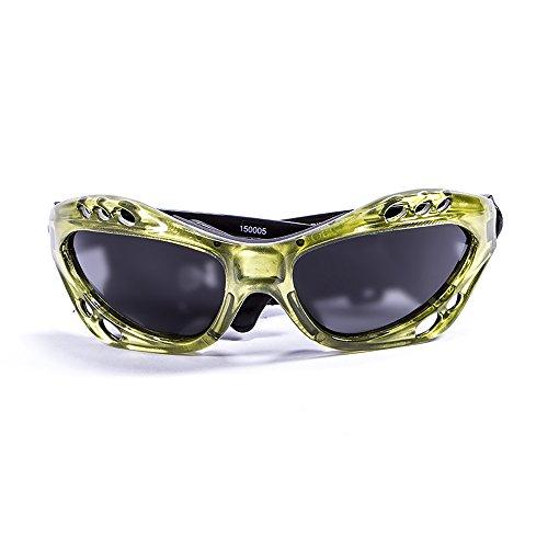 OCEAN SUNGLASSES - Cumbuco - lunettes de soleil polarisÃBlackrolles  - Monture : Jaune - Verres : FumÃBlackrolle (15000.5)