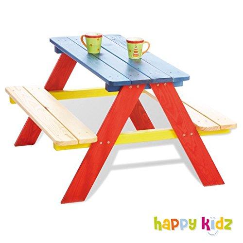 Kinder Picknicktisch Holz