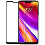 Plus 9H Hardness 3D Curved Full Screen Tempered Glass Screen Protector for LG G7 ThinQ - Black