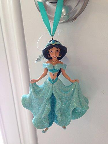 Disney Parks Prinzessin Jasmin aus Aladdin Glitzer Figur neue Version