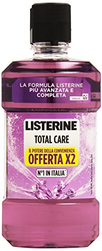 Listerine - Total  Care, Collutorio Completo Offerta, Pacco da  2X500 ml, totale: 1 l