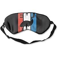 Retro Emu Silhouette 99% Eyeshade Blinders Sleeping Eye Patch Eye Mask Blindfold For Travel Insomnia Meditation preisvergleich bei billige-tabletten.eu